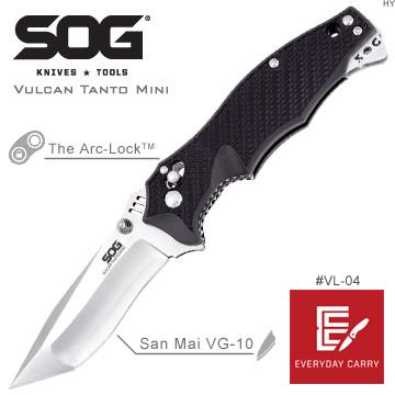 SOG Vulcan Tanto Mini 折刀#VL-04