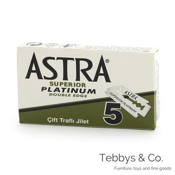俄羅斯Astra Superior Platinum極致白金版雙面安全刀片一盒