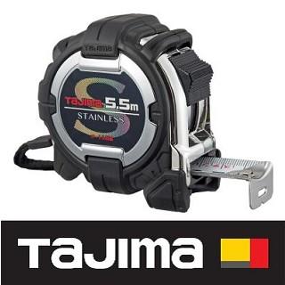 日本 田島Tajima G3不鏽鋼捲尺 5.5米 x 25mm/ 公分 G3SL2555BL