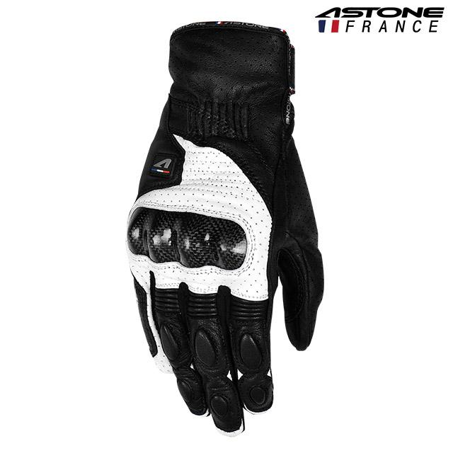 ㊣超值搶購↘88折【ASTONE】LC02(黑白)防摔騎士手套